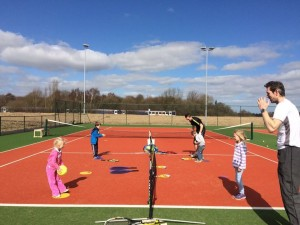 Kids tennis coaching harrogate